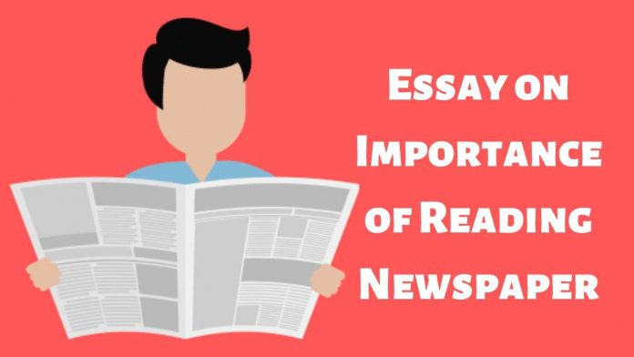 Essay on Importance of Reading Newspaper