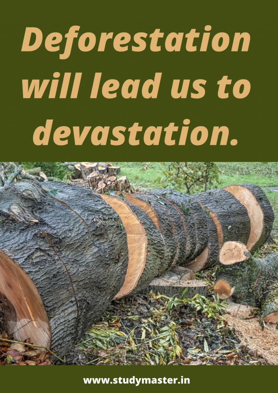 poster presentation on deforestation