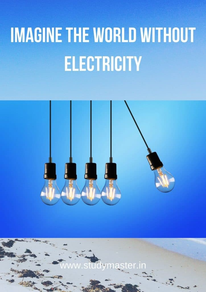 poster on save electricity