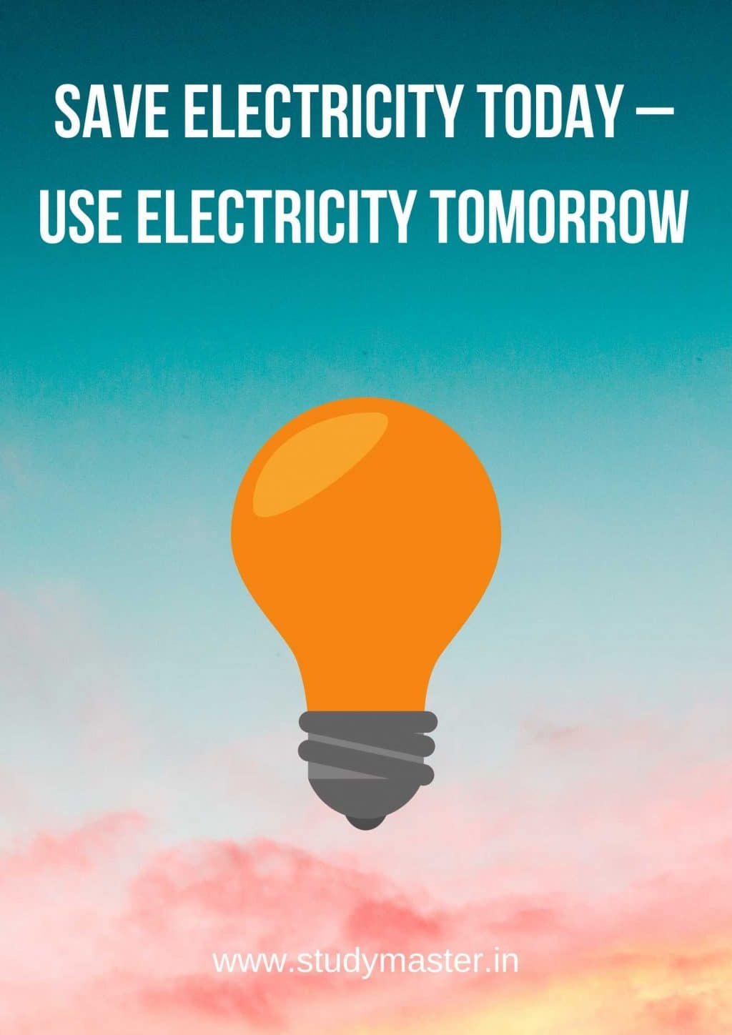save electricity