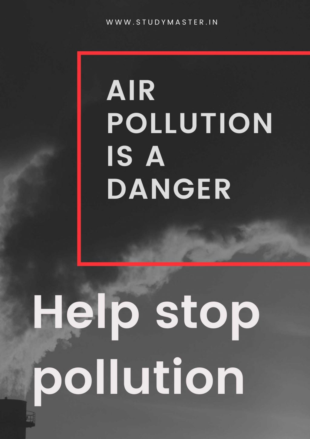 pollution poster making