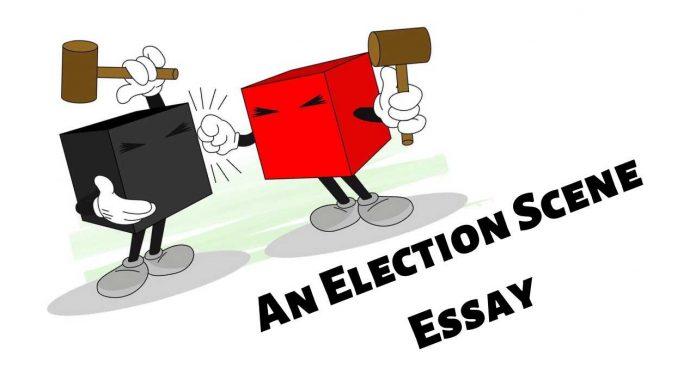 An Election Scene Essay
