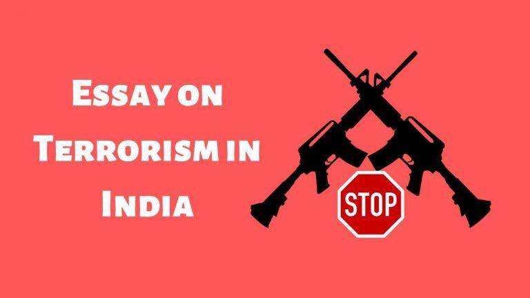 Essay on Terrorism in India   Terrorism in India Essay 300 Words