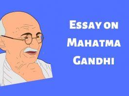 Essay on Mahatma Gandhi For Children and Student